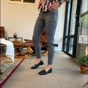 The Limited grey ankle length trousers